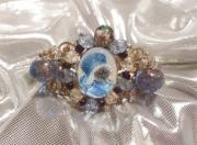 bijoux animaux bracelet baroque chat russe : bracelet baroque d'inspiration russe