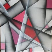 tableau abstrait : ROSE1