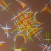 tableau abstrait : ECLAIRCIE