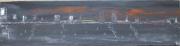 tableau marine baie bateau mer amerique : Baie Georgia