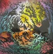 ceramique verre abstrait fractale verre : Fractale 018