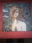 dessin personnages femme mythe imaginaire : Fille de Gaia