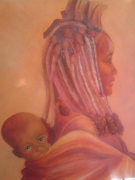 tableau personnages : himba