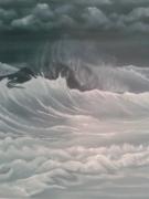 tableau marine : vagues