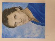 tableau personnages portrait artiste chanteur marc lavoine : Marc Lavoineportrait