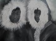 tableau personnages portarit : inuit