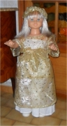 art textile mode autres poupees ange noel christmas : Mon ange