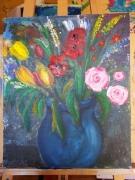 tableau fleurs beautee : fleurs