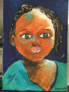 tableau personnages enfance lumiere douce melancolie : ELLA