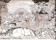 tableau scene de genre lakme lakme lakme temple : LAKME
