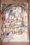 autres architecture alpes maritimes : Fontaine de  Vence