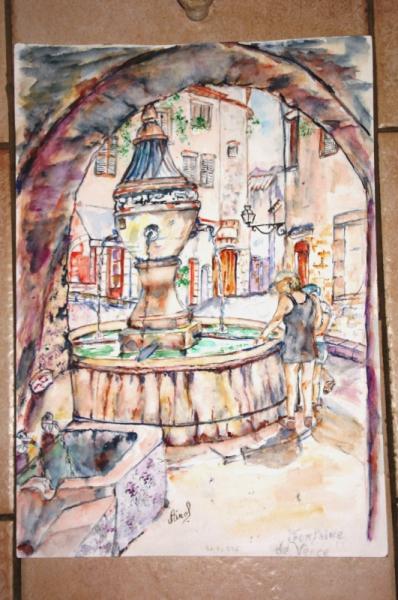 AUTRES ALPES MARITIMES Architecture  - Fontaine de  Vence