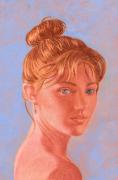 dessin personnages femme visage regard : PORTRAIT de femme