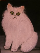 dessin animaux chat cat gatto katze : pastel chat