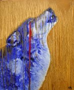 tableau animaux loup disparition engage ecologie : Loup