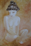 tableau nus nu femme asiatique jeune fille : Asia