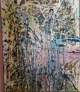 tableau abstrait pollock : Infini