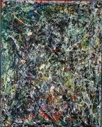 tableau abstrait pollock : Non Sens