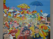 tableau carnaval dunkerque personnages fete : Carnaval de Dunkerque