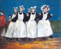 Danseuses bretonnes