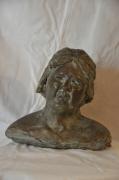 sculpture personnages : Bernadette