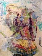 tableau personnages mannequin reverie abandon : Rêverie de pub