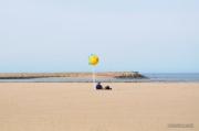 photo marine douceur d autonne plage de trouville : trouville