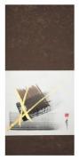 tableau abstrait peinture abstraite z zen painting kakemono : 3 éléments en kakemono