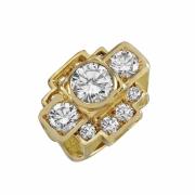 bijoux architecture 40 bague or diamant : Bague new-york