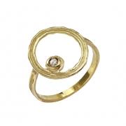bijoux abstrait bague or diamant saintvalentin : Bague celeste