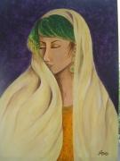 tableau personnages femme orient persane personnage : Lilah