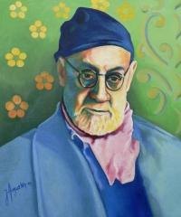 Matisse au bonnet bleu