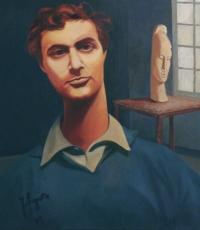 Modigliani dans son atelier