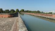 photo architecture pont moissac tarnetgaronne canal : Pont Canal du Cacor -Moissac