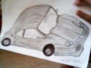dessin autres une nouvelle voiture de luxe : une nouvelle voiture
