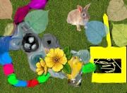 art numerique autres lapaine ,a la nature verte : lapaine a la nature