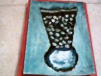 un vase traditionel marocain