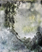 """tableau abstrait : """"Forêt"""""""