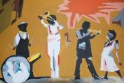 tableau scene de genre nouvelle orleans jazz : Nouvelle Orleans