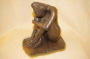 sculpture nus : tristesse