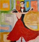 tableau personnages danse tango personnages tango danse personna : Tango en amoureux