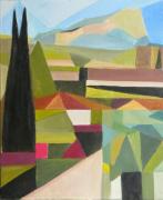 tableau cubisme provence : Sainte Victoire