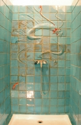 tableau architecture salle de bain decoration carrelage : carrelage