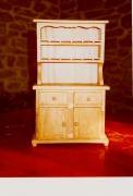 artisanat dart autres bois jouet poupee miniature : vaisselier pour poupée 30cm