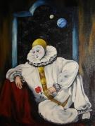 tableau personnages pierrot personage fantastique fiction : PIERROT