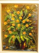tableau fleurs arbre fleurs bouquet composition florale : L'arbre aux fleurs