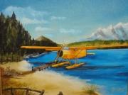 tableau paysages avion canada grands espaces payasage canadien : Promenade au Canada