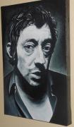 tableau personnages gainsbourg tableaux portraits : Gainsbourg