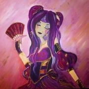tableau personnages rose chinoise manga gypsie : Gypsie Rosee