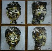 tableau personnages visage expression personnage ensemble : les expressions